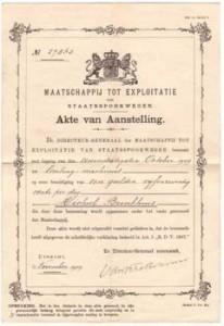 new_Akte van aanstelling van Michiel Brinkhuis
