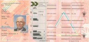 rijbewijs pa